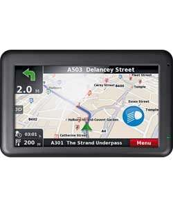 Binatone U505 5 Inch Sat Nav with Western EU Lifetime Maps - £39.99 at Argos (£43.94 for home delivery)