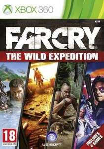 (Xbox 360) Far Cry Wild Expedition (Far Cry 1,2,3 & Blood Dragon) - £13.00 - Tesco Direct (Amazon Price Match)