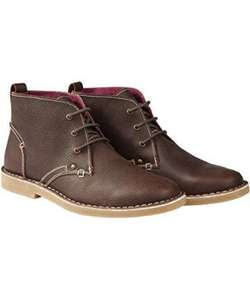 Laid Back Leather Chukka Boots £17.95 @ Joe Browns