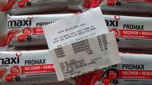 maxi nutrition protein bars 2p asda!