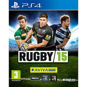 Rugby 15 PS4 was £54.99 now £16.50 with PS plus or £27.50 without @ PSN