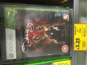 Darkness 2 - Xbox 360 mega cheap £3.25 @ Tesco instore