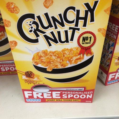 crunchy nut cornflakes 1.5kg for £3.00 @ Asda instore