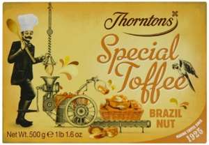 500g Thorntons Brazil Nut Toffee £2.47 Add on item @ Amazon