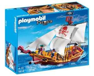 Playmobil Pirate Ship HALF PRICE £24.99 at Argos