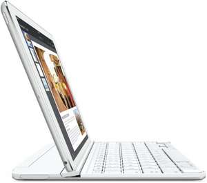 Logitech Ultrathin Magnetic Clip On Keyboard for iPad Air 2 - White, UK Qwerty Layout  £49.99(from £84.99)& FREE Delivery in the UK,Dispatched from and sold by Amazon.