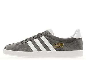 Adidas Mens Originals Gazelle OG - Sharp Grey / White (Sizes 7 and 8 ONLY!) £45.00 @ jd sports