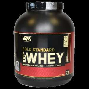 Optimum nutrition gold standard whey £44.99 @ GNC