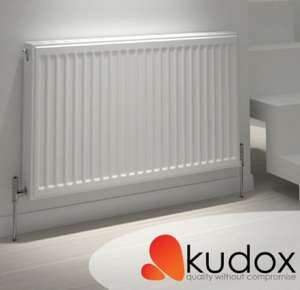Free valves when you buy any kudox radiator from screwfix