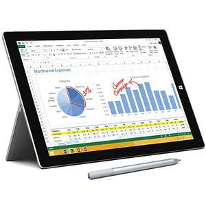 "Microsoft Surface Pro 3, Intel Core i5, 8GB RAM, Windows 8.1 Pro, 12"", 256GB, Wi-Fi, Silver £949.00 @ John Lewis"