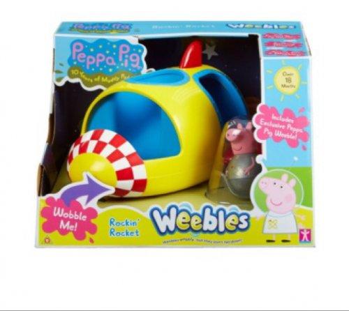 Peppa Pig Weebles Rocking Rocket  £7.00 @ Tesco instore