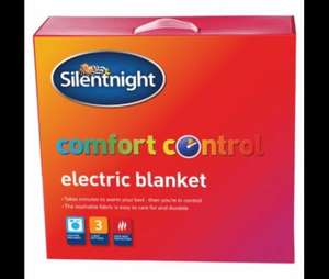 Silent night king size electric blanket £15.00 @ Tesco direct