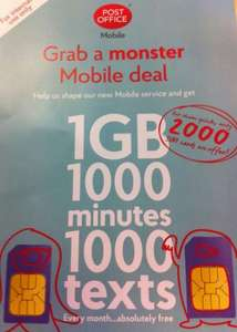 6 months free mobile service @ postoffice