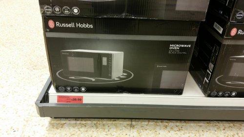 Russell Hobbs Microwave rhm2361b 23 litre £39.99 @ Sainsburys instore