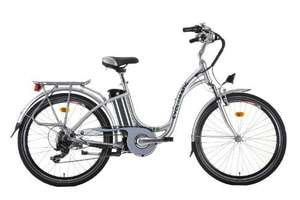 Cyclamatic GTE Step Through E-Bike - Silver £171.14 @ Amazon