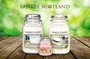 Yankee Candle £5 for £10 voucher via Itson