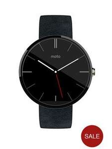 Moto 360 Black @ £154.99 with discount code at very.co.uk