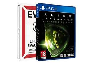 £24.99 Alien: Isolation - Nostromo Steelbook PS4 & Xbox One @ Amazon