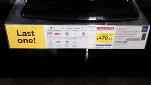 lg 60PB660V 60 inch smart tv £479.00 @ Currys