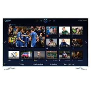 SAMSUNG UE40H6410, 40 Full HD 1080p Smart 3D LED TV with Built-In Wi-Fi Freeview HD - £369 - RGB Direct