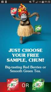 PG Tips Free Sample