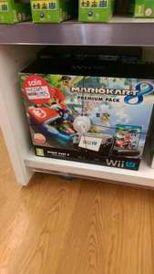 Wii u Mario kart 8 bundle £185 Asda Living (Gateshead)