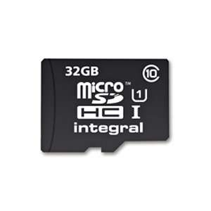 Integral 32GB Ultima Pro Micro SDHC Card with adapter £7.99 mymemory