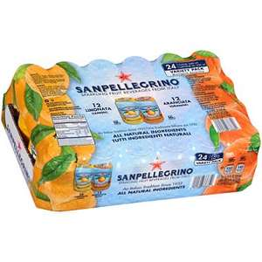 San Pellegrino £8.26 inc VAT (24 cans * 330ml) @ Costco