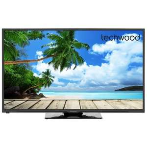 "50 inch TV for under £300 Techwood 50AO1B 50"" Full HD 1080p LED TV £299 @ AO"