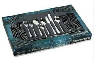 Arthur Price Shimmer 44 Piece Cutlery Box Set £49 @ ecookshop
