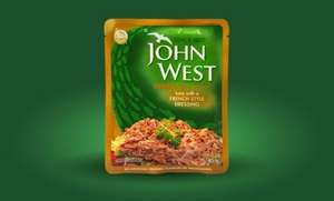John West Twist free sample + 50p  off your next purchase (Facebook)