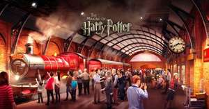 26 March: Harry Potter Studio Tour Incl. Hogwarts Express, Butterbeer, Special Guests £29 @ groupon