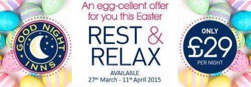 Good Night Inns £29p/n Egg-cellent Offer