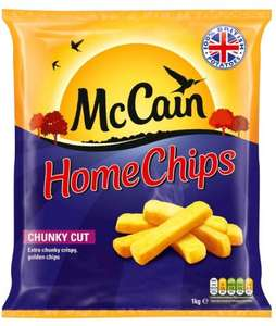 McCain Home Chips Chunky Cut (1Kg) - £1.10 @ Sainsbury's...
