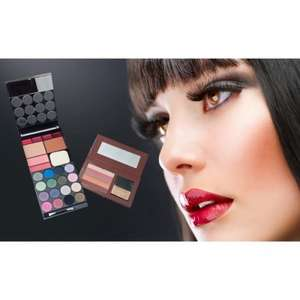22 Piece Complete Make-up Kit with Free Bronzer Palette for just £4.99 worth £20.00 @ halfpriceperfumes