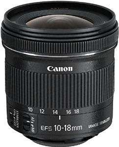 Canon EF-S 10-18mm f/4.5-5.6 IS STM Lens £192.15 @ Amazon