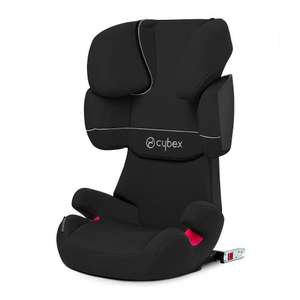 Cybex Silver Solution X-Fix Toddler Car Seat Group 2/ 3 (Pure Black/ Black) @ Amazon @ £85.59