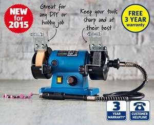 Mini Bench Grinder £26.99 @ Aldi