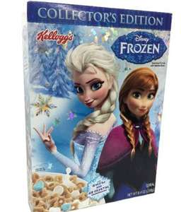 Kelloggs Frozen & Star Wars Cereal £2 @ Asda