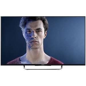 "Sony Bravia KDL55W8 LED HD 1080p 3D Smart TV, 55"" with Freeview HD & 2x 3D Glasses £699 at John Lewis"