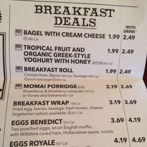 Wetherspoons hidden breakfast deal - £1.49