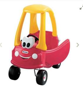 Buy one part built Cosy coupe car for £25 get a part built My first slide FREE!!!!! @ Adventure toys (instore!)