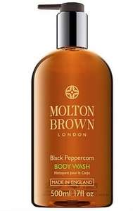 Molton Brown Super Size *500ml* Shower Gels delivered £19.80 + 5% TCB @ fragranceexpert