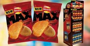 Walkers Max flamin' hot flavour 29p @ Home Bargains