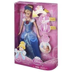 Disney Princess Glitter n Lights doll, on shelf @ £20 but scanning @ £6.75 plus others (see description) @ Tesco instore