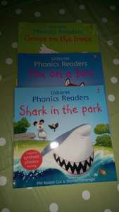 Usborne Phonics Readers Books £1 Poundland