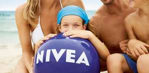 Free beach ball with any purchase of Nivia creams!