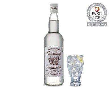 Cocobay White Rum & Coconut, £4.79, Aldi
