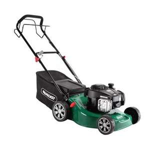 Qualcast 125cc Self-propelled Petrol Rotary Lawn Mower - 41cm - £127.99 C&C @ Homebase + 2.5% Quidco.