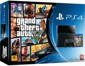 Playstation 4 Grand Theft Auto V Bundle £288.97 @ Gamestop